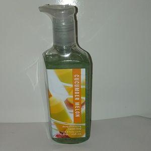 Bath & body works cucumber melon hand soap